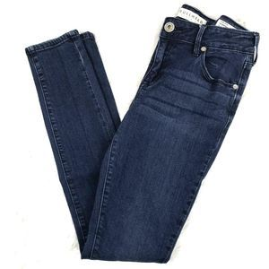 Bullhead Dark Wash Low Rise Skinniest Denim Jeans